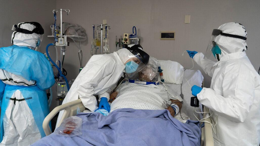 بیمار مبتلا به کووید ۱۹ شدید