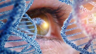 ژن درمانی چشم